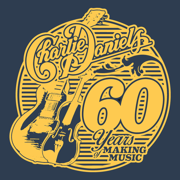 NEW! - Navy Blue/Gold CDB Military Tee - Benefits The Journey Home Project