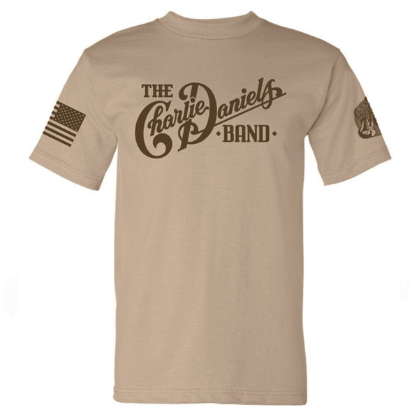 Desert Sand CDB Military Tee - Benefits The Journey Home Project