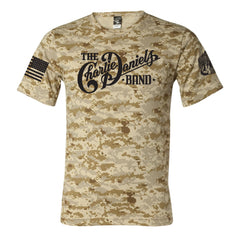 CDB Sand DigiCamo Military Tee - Benefits The Journey Home Project