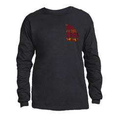 "NEW! 9 Line SM Logo ""The Devil Went Down To Georgia"" 40th Anniversary Long Sleeve T-Shirt"