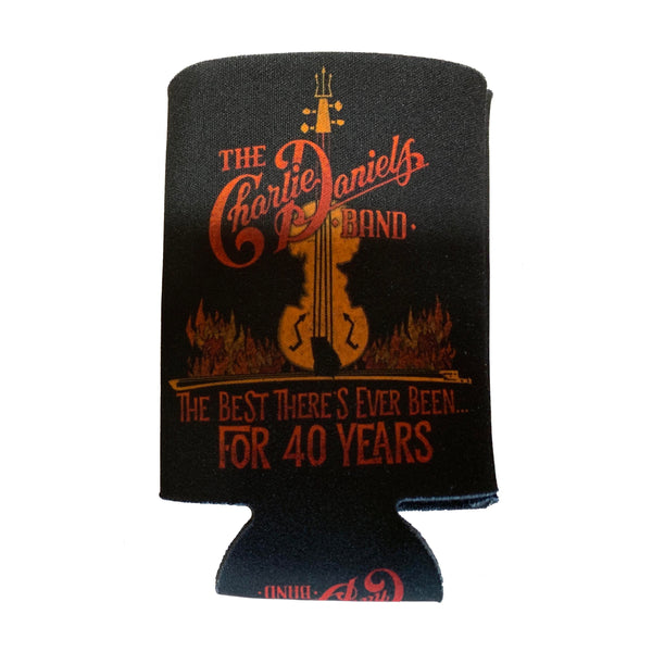 "NEW! ""The Devil Went Down to Georgia"" 40th Anniversary Koozie"