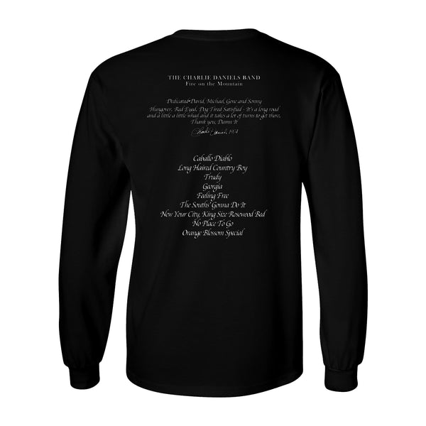NEW! 'Fire on the Mountain' 45th Anniversary Long Sleeve Tee