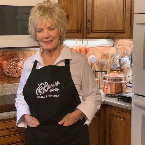 NEW! - CDB Hazel's Kitchen Black Apron
