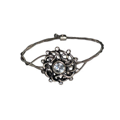 NEW! Women's Idle Strings Bracelet - Metallic Celtic Knot with Rhinestones