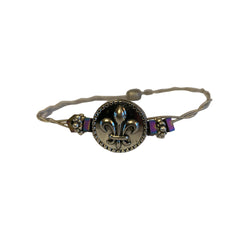 NEW! Women's Idle Strings Bracelet - Fleur-de-lis
