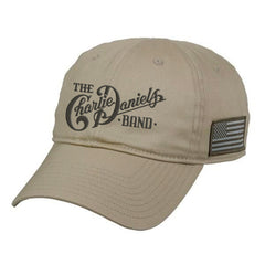 NEW! CDB Desert Sand Military Hat - Benefits The Journey Home Project