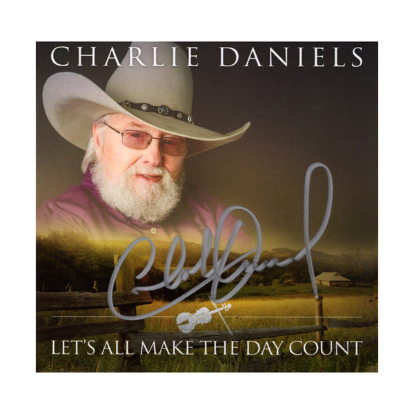 NEW! Autographed Let's All Make the Day Count CD