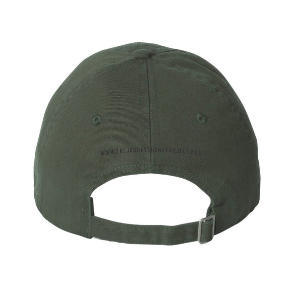 CDB Olive Military Hat - Benefits The Journey Home Project