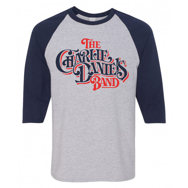 CDB 1982 Logo Baseball Tee Heather Gray/Navy