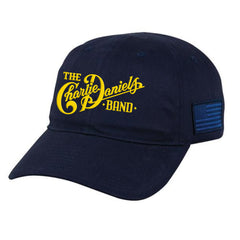 CDB Navy Blue/Gold Military Hat - Benefits The Journey Home Project