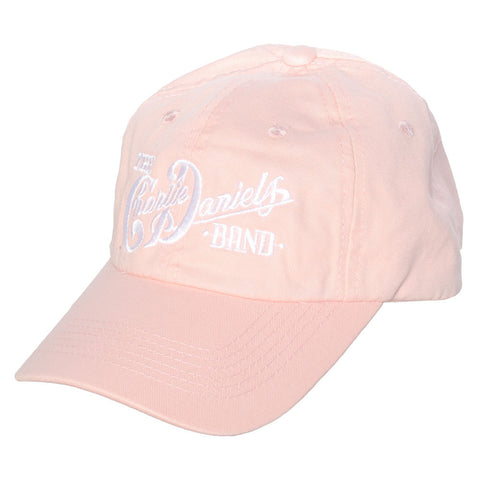 Pink CDB Logo Embroidered Hat