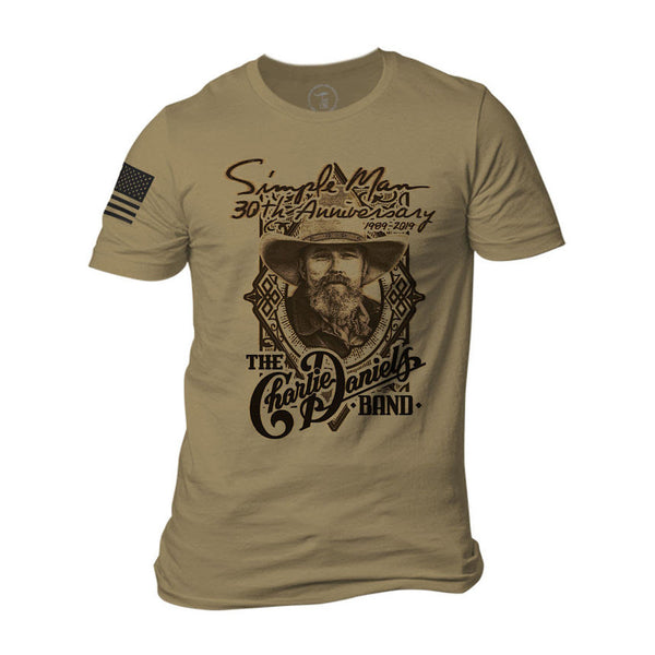9 Line Simple Man 30th Anniversary Tee