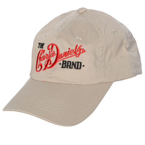 Tan CDB Logo Embroidered Hat