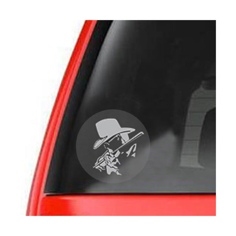 Small CD Truck Emblem Window Decal