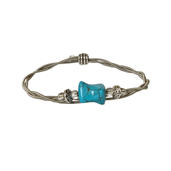 NEW! Women's Idle Strings Bracelet Turquoise Stone