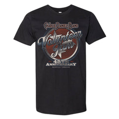 NEW! Volunteer Jam 45th Anniversary Short Sleeve Tee