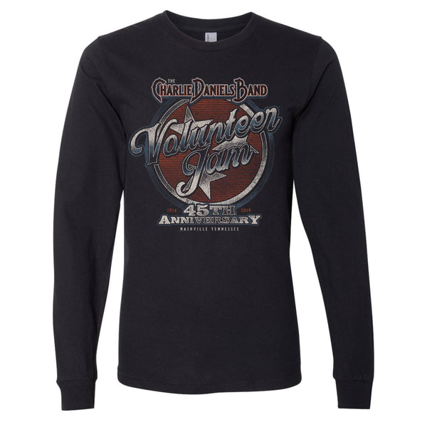 NEW! Volunteer Jam 45th Anniversary Long Sleeve Tee