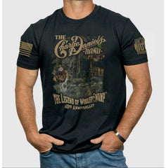 "BLACK 9Line ""The Legend of Wooley Swamp"" 40th Anniversary Tee"