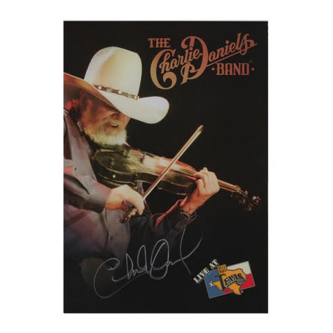 Autographed Live at Billy Bob's Texas DVD
