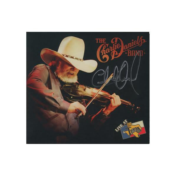 Autographed CDB Live at Billy Bob's Texas CD