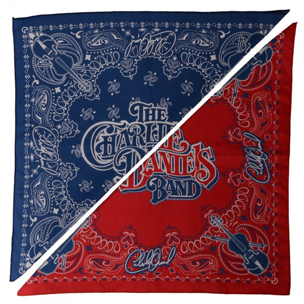 CDB Red & Blue Bandanas combo