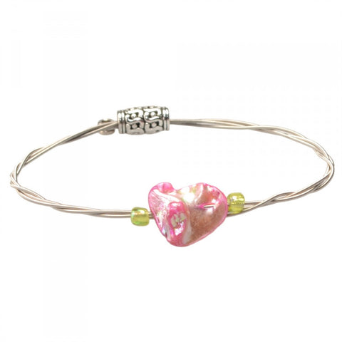 Women's Idle Strings Bracelet - Pink Abalone
