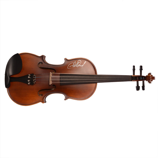 Autographed Brown Adult Sized Fiddle