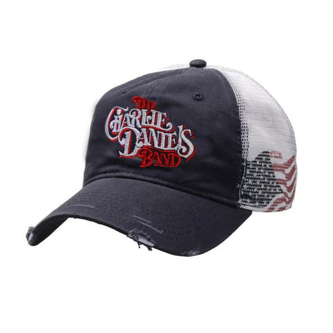 CDB Flag Distressed Hat
