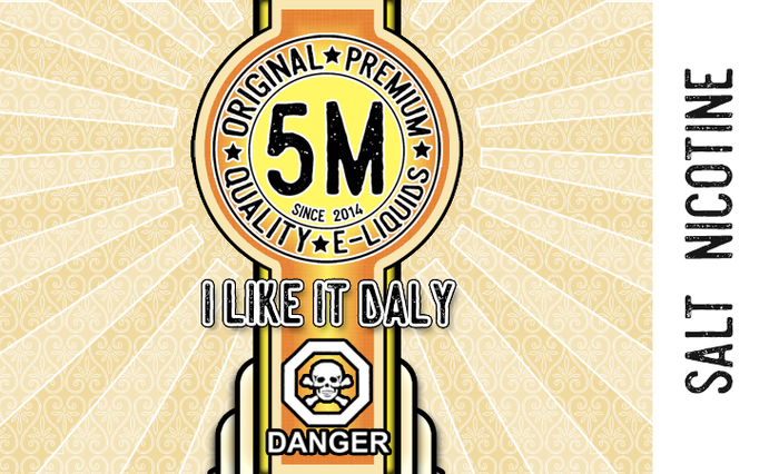 5M E-Liquids - I Like it Daly (Salts)