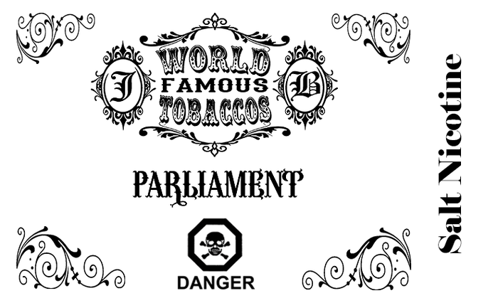 World Famous Tobaccos - Parliament (Salts)