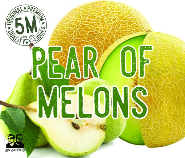 5M - Pear of Melons - E-Juice