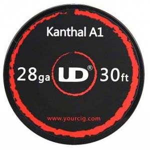 UD Kanthal A1 10m Wire Spool, 28 AWG