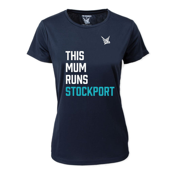 This Mum Runs Stockport - Running Tee