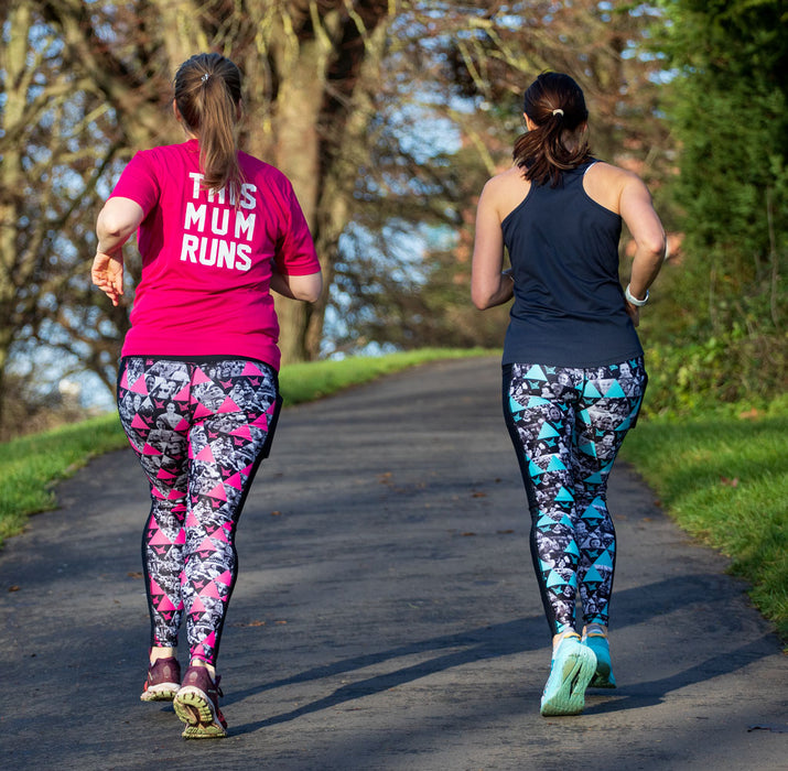TMR Leggings - Together - Bright Pink