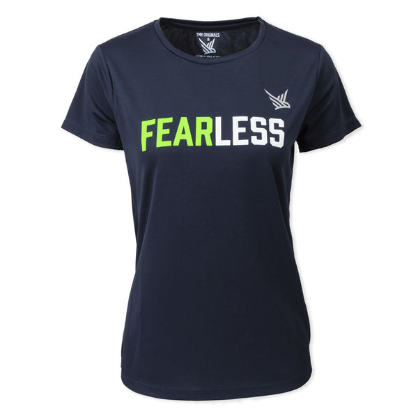 TMR FearLess French Navy Tee