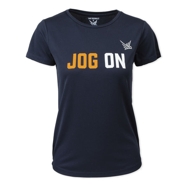 TMR Jog On French Navy Tee