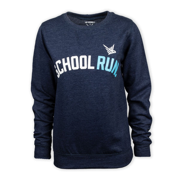 TMR School Run Sweatshirt - Heather Navy