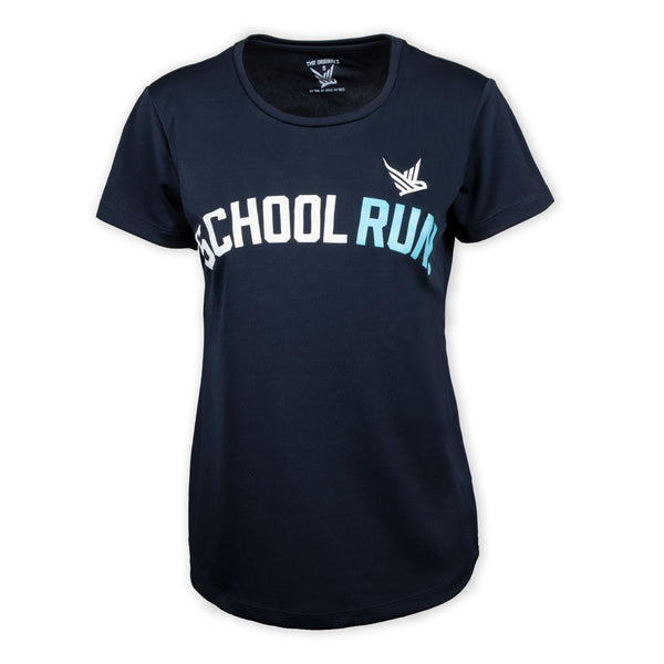 TMR School Run French Navy Tee