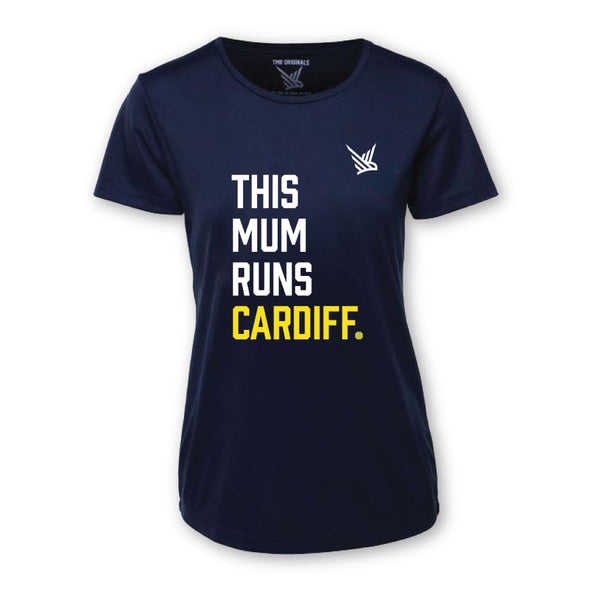 TMR CARDIFF Running Tee - French Navy