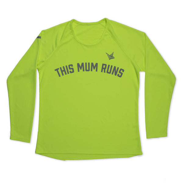 TMR Long Sleeved Running Tee - Neon