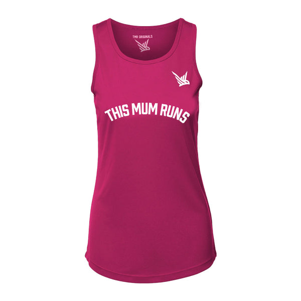 TMR Running Vest - Hot Pink