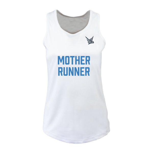 TMR Mother Runner White Vest