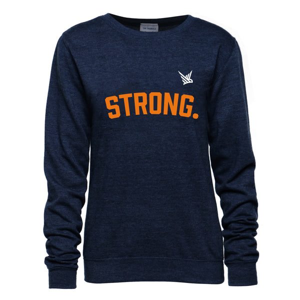 TMR Strong Sweatshirt - Heather Navy