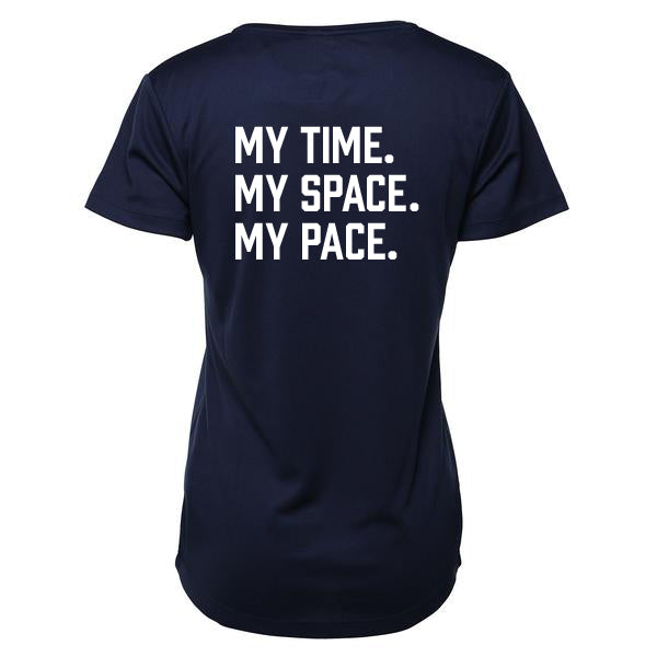 TMR My Time My Space My Pace - French Navy T-shirt