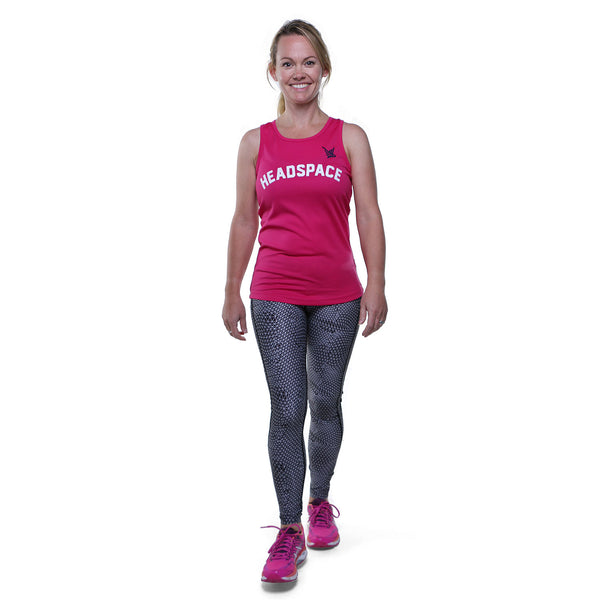 TMR Headspace Running Vest - Hot Pink