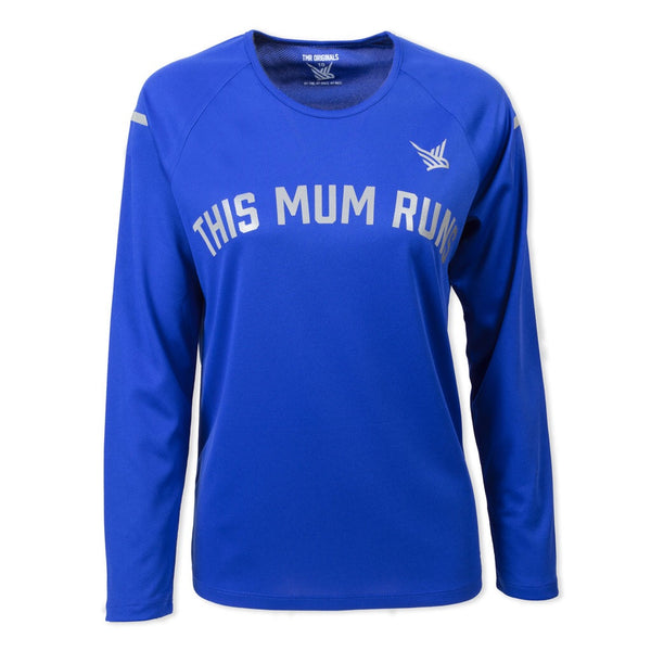 TMR Long Sleeved Running Tee - Royal