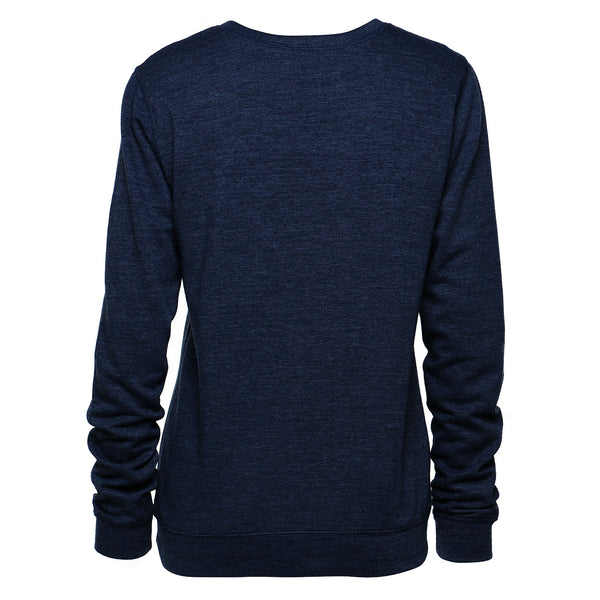TMR Running Late. Sweatshirt. Heather Navy