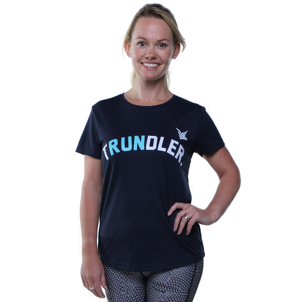 TMR Trundler Running Tee - French Navy