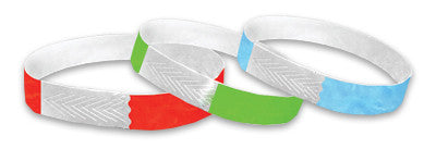 1/2 Tyvek Closeout Wristbands Solid Colors 1000