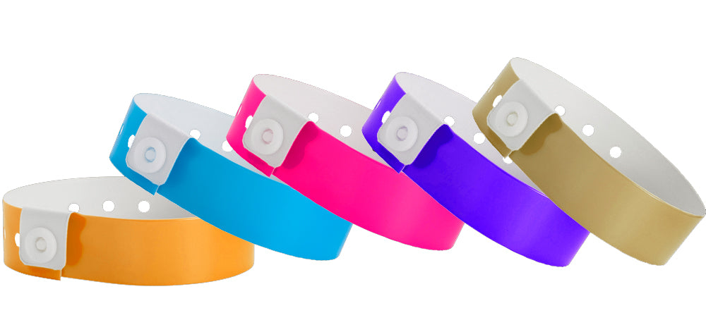 Vinyl Wristband Solid Colors 500